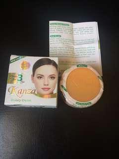 Authentic kanza cream