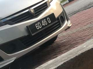 sell car number 6D46Q and 6D98Q