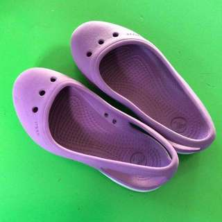 Authentic Crocs for girls - purple