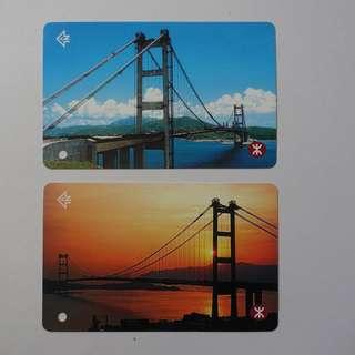 青馬大橋紀念車票連原裝保護套