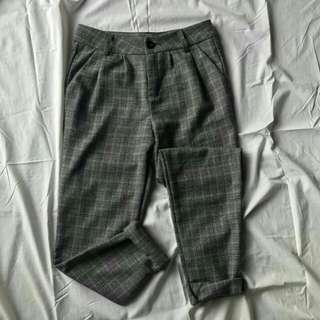 Customized Checkered Pants