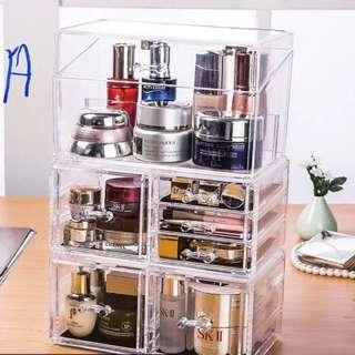 Acrylic Cosmetic Organizer storage
