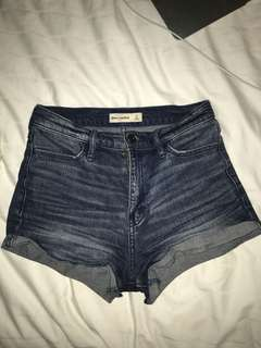 Abercrombie high wasted shorts