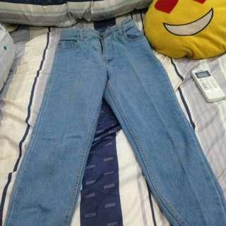 Boyfriend jeans!! Free ongkir!!