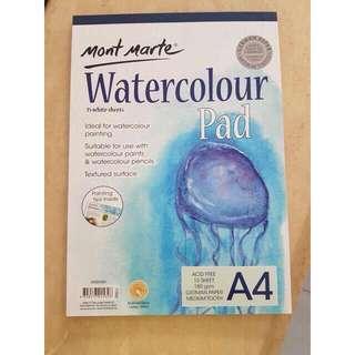Mont Marte Water Color Paper A4