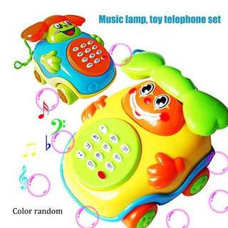 Mainan anak telepon berbunyi