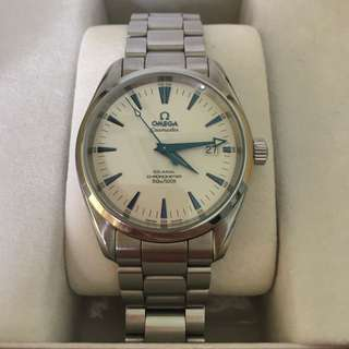 Omega Watch Aqua Terra 2500