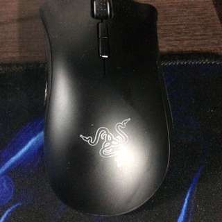 Gaming Pc, HyperX alloy fps keyboard, Razer death adder elite chroma
