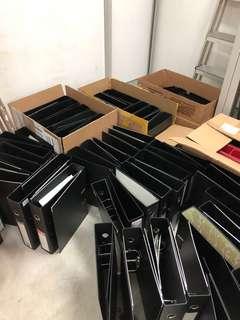 3吋黑色包膠File (F4)