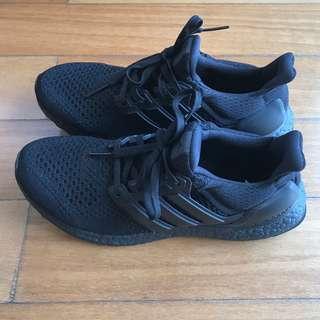 Adidas UltraBoost Triple Black Shoes