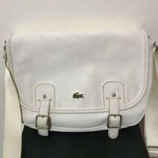 Preloved Lacoste Messenger Bag