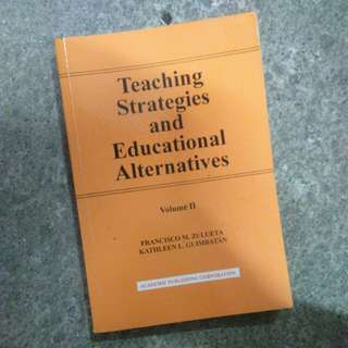 Teaching Strategies and Educational Alternatives