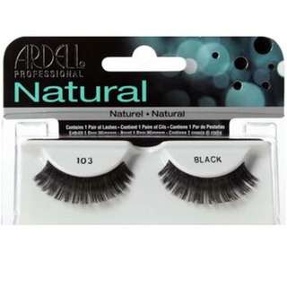 Ardell Eye lashes (103 black)