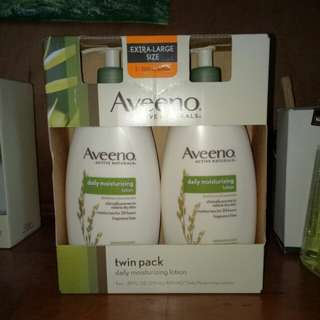 Aveeno Extra-Large Daily Moisturizing Lotion Twin Pack