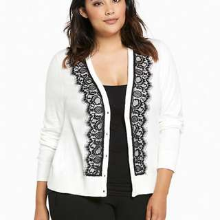 UK10-14 Parisian chic Lace Cardigan