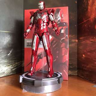 Hot Toys - Iron Man 3 - Silver Centurion