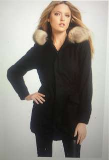 Marc by Marc Jacobs Parka. Real fur! Size XS