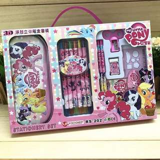 My Little Pony Stationery Set Brand new with crayons