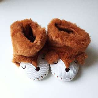 ZARA HOME kids deer shoes