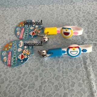 Last PCS Each Doraemon Bell With Ring strap Keychain