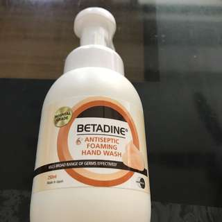 Antiseptic Foaming Hand Wash