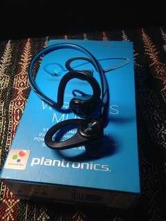 Earphone bluetooth plantronic backbeat fit