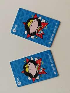 Justice League Wonder Woman Ezlink Card