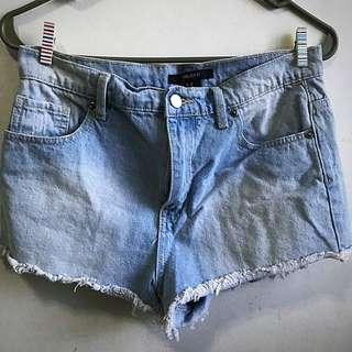 Forever 21 Denim High Waist Shorts