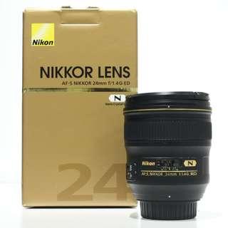 Nikon AF-S 24mm F1.4G ED Lens