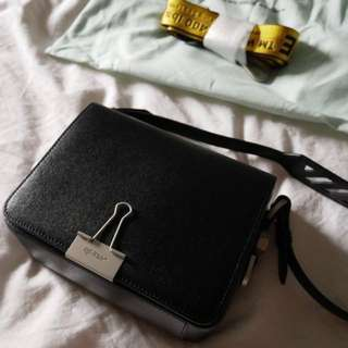 AUTHENTIC Off-White Binder Clip bag