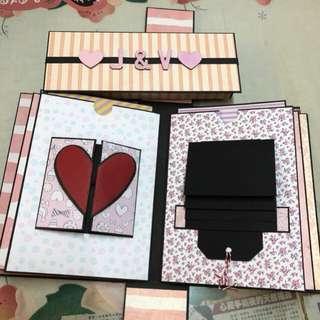 母親節 禮物 手作相簿 爆炸盒 散賣機關 超過20款機關可選