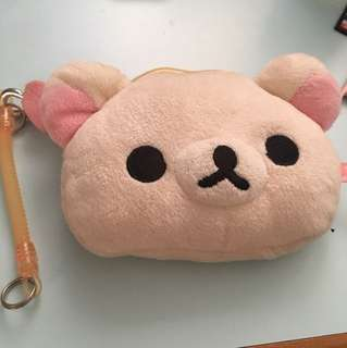 輕鬆小熊 Rilakkuma 可伸縮 散紙包 八達通套