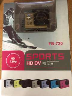 Sports HD DV FB-720 Water Resistance 30M