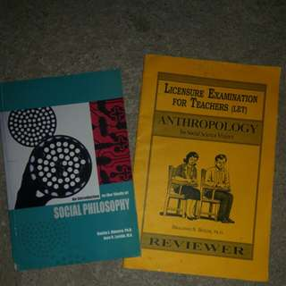 Bundle of Materials for Social Science LET Takers