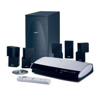 Bose Lifestyle 28 DVD system