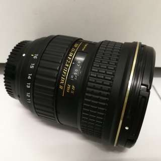 Tokina 11-16mm f2.8 (if)  DX ii (for nikon)