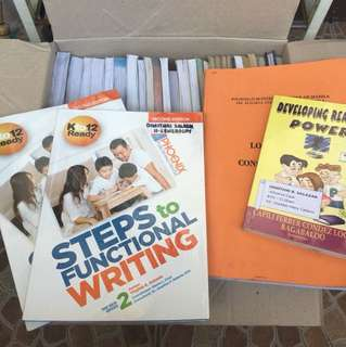 K-12 Books from Pre school to Grade 2