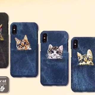 刺繡 電話套