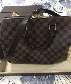 Louis Vuitton speedy de 30 bandouliere