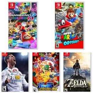 BUY Nintendo Switch Games