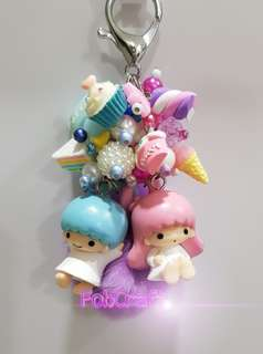 Sanrio Little Twin Stars Fob Charm