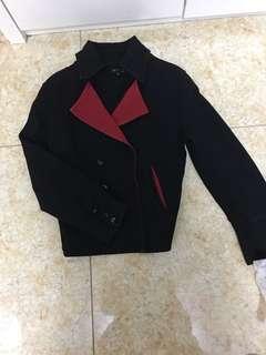 agnes b外套,羅馬尼亞製造size3
