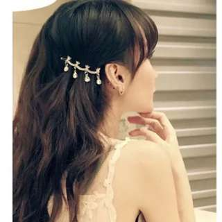 Trendy Crystal hair pin