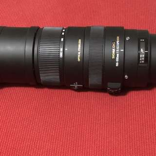 Sigma 150-500mm f5.6-6.3 DG OS HSM canon mount