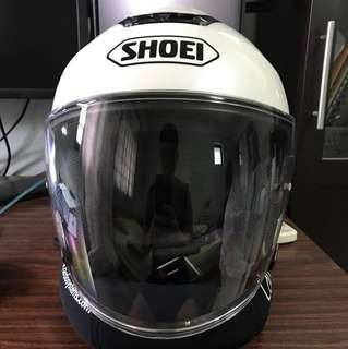 Shoei Jcurise White Large