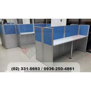Office Table**With tubular legs* Office Partition