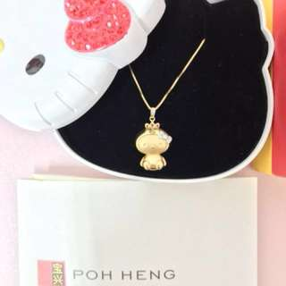 Hello Kitty Necklace from POH HENG