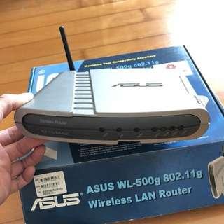 華碩ASUS WL-500g wireless router 無線路由器