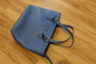 Hush Puppies Bag warna biru