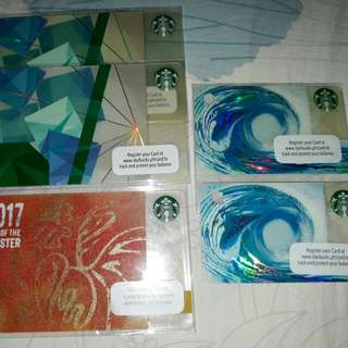 Starbucks PH cards